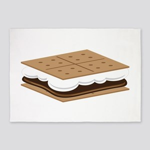 SMore Cracker 5'x7'Area Rug