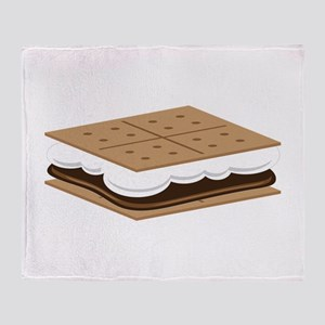SMore Cracker Throw Blanket