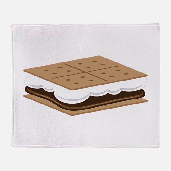 SMore Cracker Throw Blanket