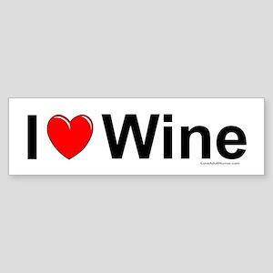 Wine Sticker (Bumper)