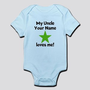 My Uncle Loves Me Star Body Suit