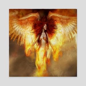 Beautiful Fire Angel Queen Duvet
