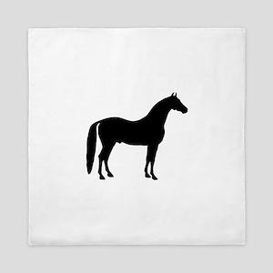 Black Stallion Queen Duvet