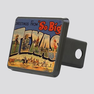 Vintage Texas Rectangular Hitch Cover