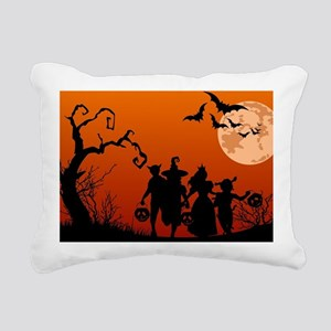Halloween Rectangular Canvas Pillow