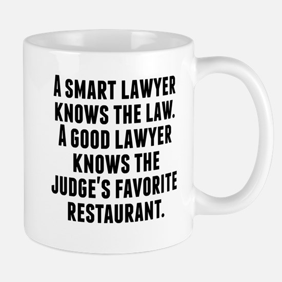 A Good Lawyer Mugs