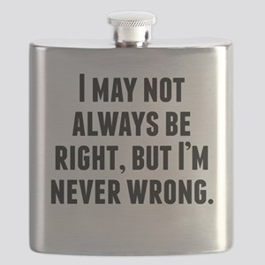 Im Never Wrong Flask