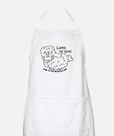 Lamb of God BBQ Apron