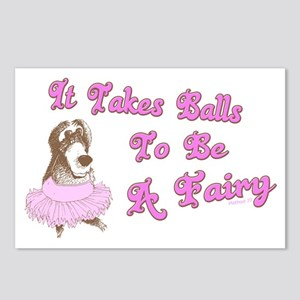 Takes Balls Postcards (Package of 8)