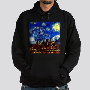 Starry Night Chicago Hoodie (dark)