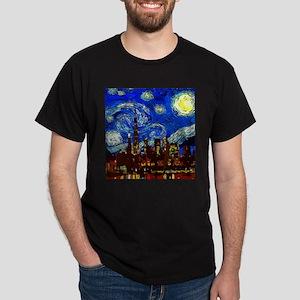Starry Night Chicago T-Shirt