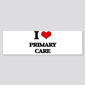 I Love Primary Care Bumper Sticker