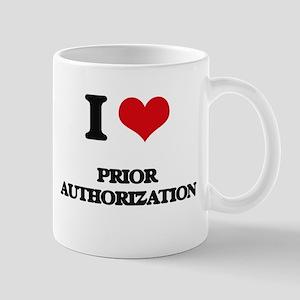 I Love Prior Authorization Mugs