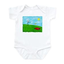 Stick Person (When Life Hands) Infant Bodysuit