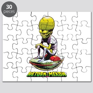 Return of the Mekon scifi vintage Puzzle