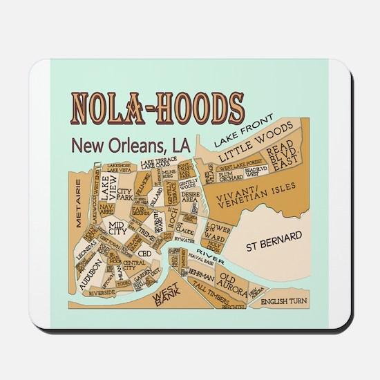 NOLA-Hoods Mousepad