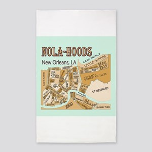 NOLA-Hoods Area Rug