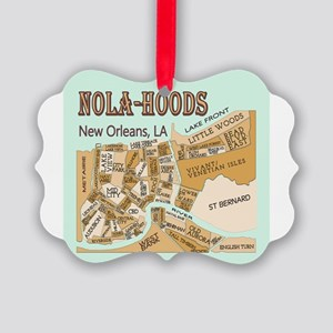 NOLA-Hoods Picture Ornament