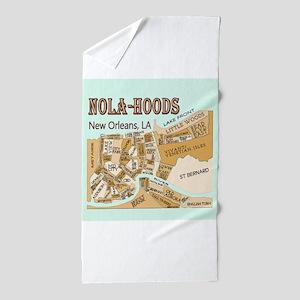 NOLA-Hoods Beach Towel