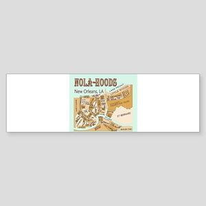 NOLA-Hoods Bumper Sticker