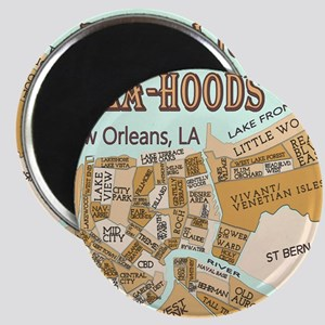 NOLA-Hoods Magnets