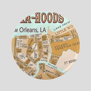 """NOLA-Hoods 3.5"""" Button"""