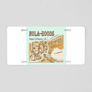 NOLA-Hoods Aluminum License Plate