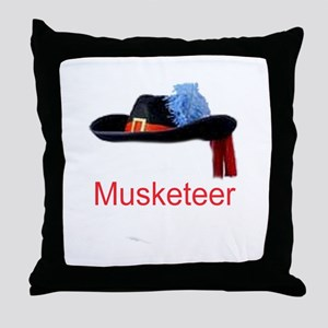 Musketeer Throw Pillow