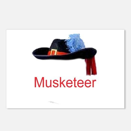 Musketeer Postcards (Package of 8)
