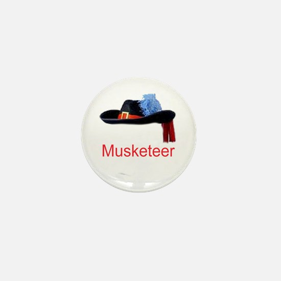 Musketeer Mini Button
