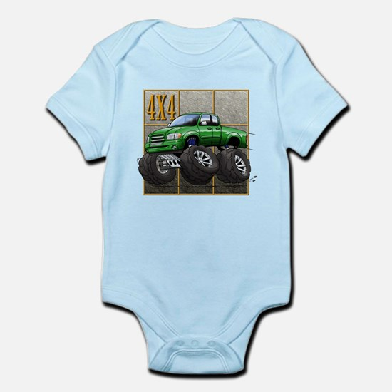 Tundra_Green Infant Bodysuit