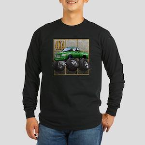 Tundra_Green Long Sleeve Dark T-Shirt
