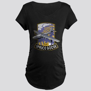 H-4 Hercules Spruce Goose flying Maternity T-Shirt