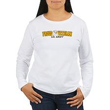 Proud Veteran - Army Women's Long Sleeve T-Shirt