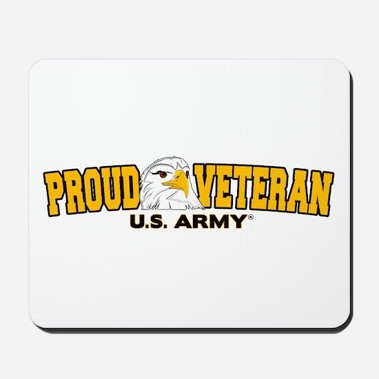 Proud Veteran - Army Mousepad