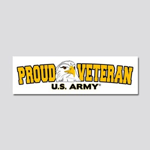 Proud Veteran - Army Car Magnet 10 x 3