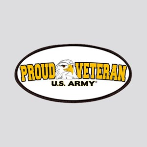 Proud Veteran - Army Patches