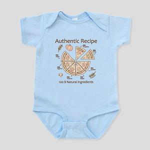 Pizza-Authentic Recipe Body Suit