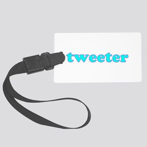 Tweeter Large Luggage Tag