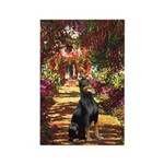 Dobie on the Path Rectangle Magnet (10 pack)