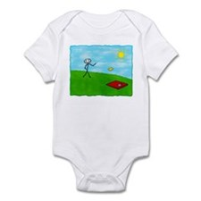 Stick Person (Image Only) Infant Bodysuit