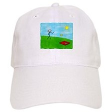 Stick Person (Image Only) Cap