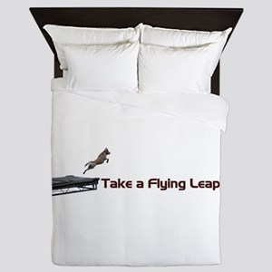 Flying Leap Queen Duvet
