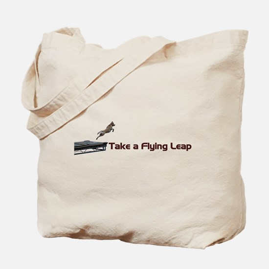 Flying Leap Tote Bag