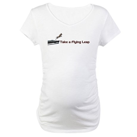 Flying Leap Maternity T-Shirt