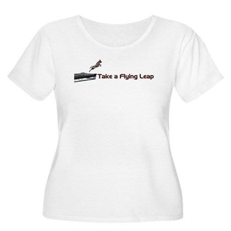 Flying Leap Women's Plus Size Scoop Neck T-Shirt