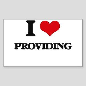 I Love Providing Sticker