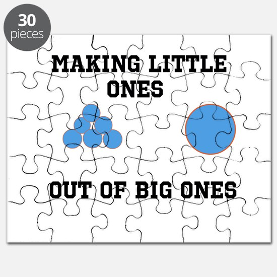 Making Little ones out of big ones Puzzle