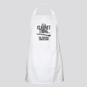 Clarinet Thing Apron