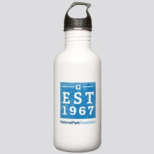 Npf Est.1967 Washed Stainless Water Bottle 1.0l